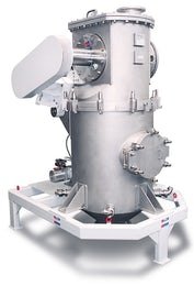 Fluidized bed opposed jet mills