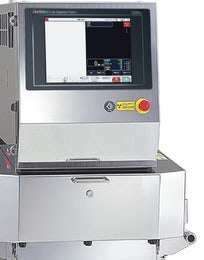 X-ray inspection system for processed meat products