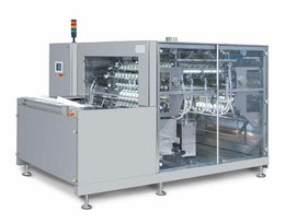 Automatic washing machine for ampoules