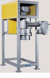 Pelleting press with overhead drive