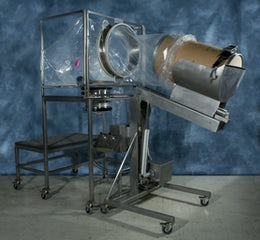 Flexible contained drum transfer system