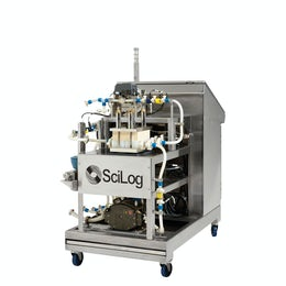 Automated single use tangential flow filtration system