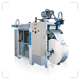 Horizontal form, fill and seal machine for bags up to 10kg