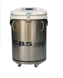 Liquid nitrogen freezer for safe and dry storage of your samples