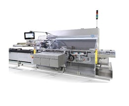 Automatic cartoner for applications in pharmaceutical and cosmetics industry