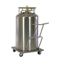 Cryogenic industrial gases transportation supply tank