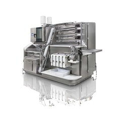 Small scale cocoa beans processing machine