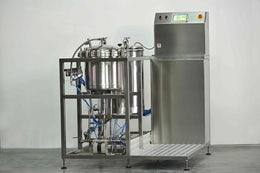 Medicinal plant extraction machine
