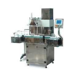 Automatic filling line for solid doses