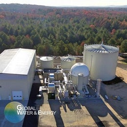 Waste to energy anaerobic digestion system