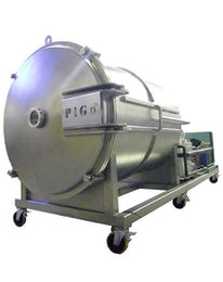 Industrial freeze-dryer for fruits