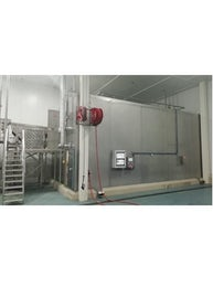 Industrial IQF freezer for fruits and vegetables