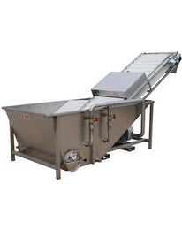 Industrial washing machine for fruits and vegetables
