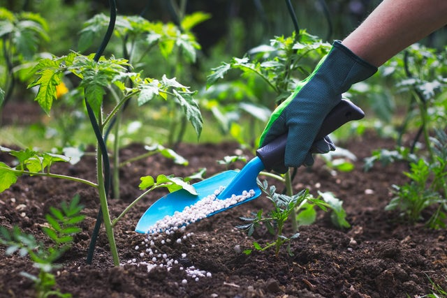 Dust-free solution to packing fertilizers