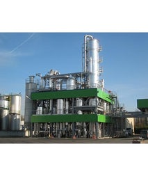 Production plant for biodiesel