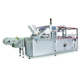 Horizontal cartoner for food products