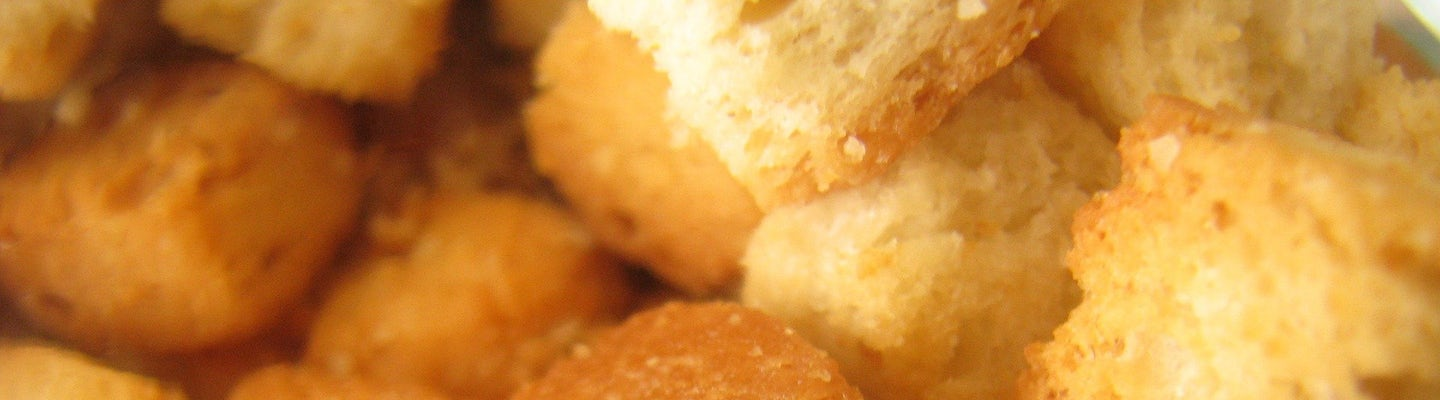 Let's make croutons