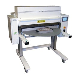 Semi-automatic forming and sealing blister machine