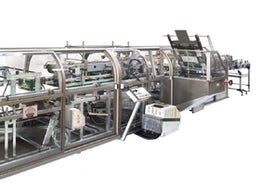 Machine for packing canned pet food