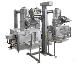 Concentrator for fruit puree preparation