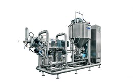 Mixing system for batter and cream